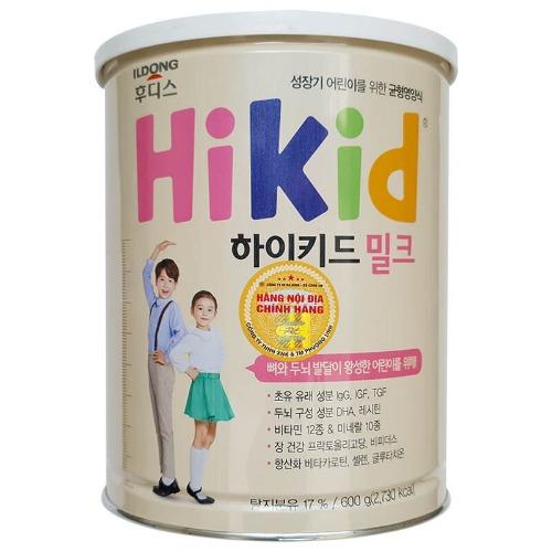Sữa công thức Hikid bò hương vị Vani thơm ngon, dễ uống