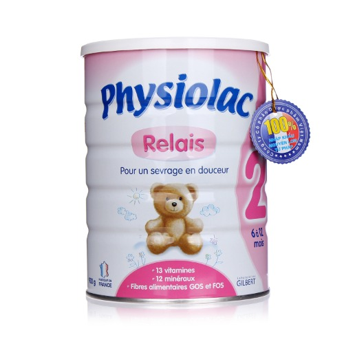 Sữa Physiolac số 2 cho bé từ 6 đến 12 tháng