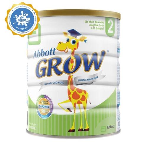Sữa Abbott Grow với hệ dưỡng chất G - Power chứa hàm lượng cao Protein