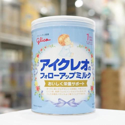Glico số 1 bổ sung các chất dinh dưỡng thiết yếu cho bé tập ăn, tập đi