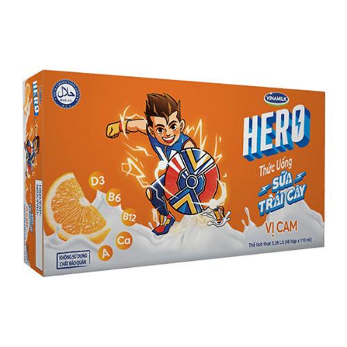Hero vị cam được nhiều bé ưa chuộng