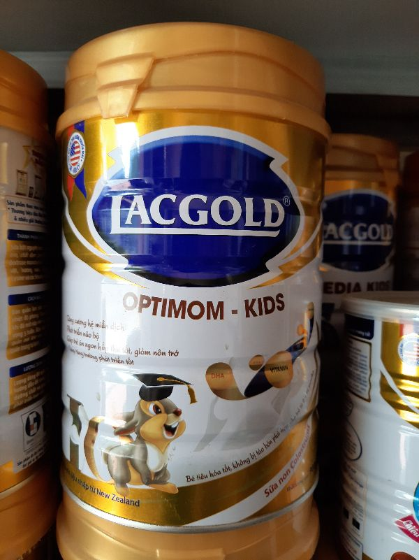 Sữa Lacgold Optimum Kids