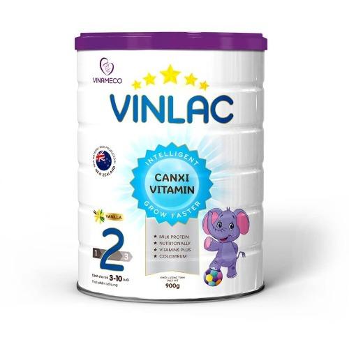 Sữa công thức Vinlac số 2 cho trẻ từ 3 đến 10 tuổi
