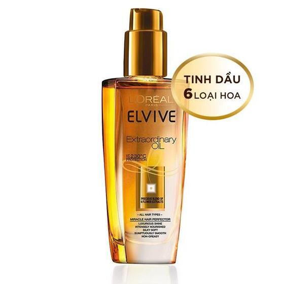 Dầu dưỡng tóc L'oreal Paris Elseve Extraordinary Oil