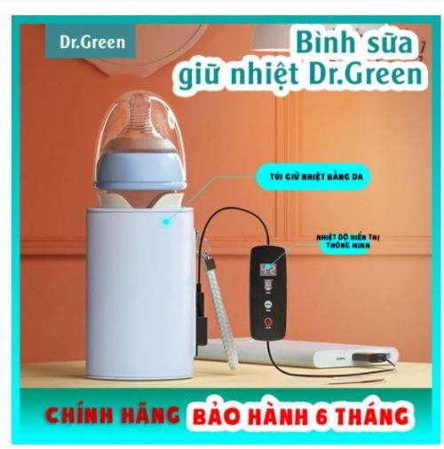 Dr Green hỗ trợ giữ nhiệt - tăng chất chất lượng sữa