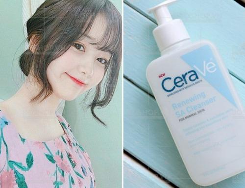 Dòng sữa rửa mặt chuyên ngừa mụn và dưỡng ẩm cho da