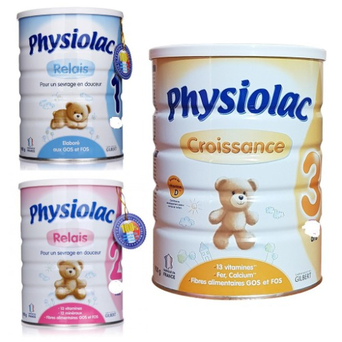 Physiolac - sữa công thức số 1 của Pháp