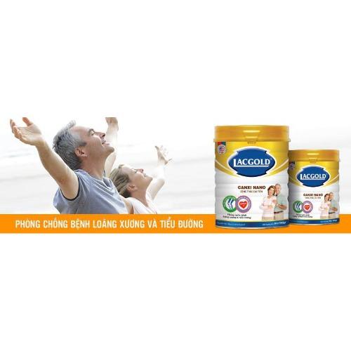 Sữa bột Lacgold Quốc tế cấp chứng nhận