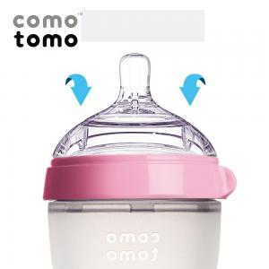 Van thông khí hai chiều giúp tránh sặc sữa cho bé