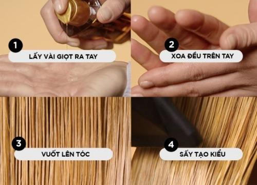 Sử dụng tinh dầu dưỡng tóc đúng cách - giúp phục hồi tóc hư tổn