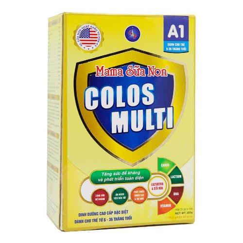 Mama Sữa Non Colos Multi A1 - sử dụng cho bé ăn dặm kém, hay ốm vặt