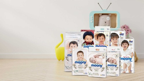 Bỉm Moony - dòng sản phẩm bán chạy số 1 trên thị trường
