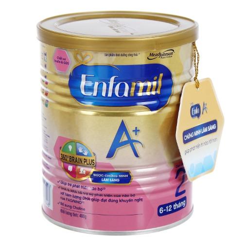 Enfamil A+ 2 cung cấp dinh dưỡng thiết yếu cho trẻ từ 6 đến 12 tháng