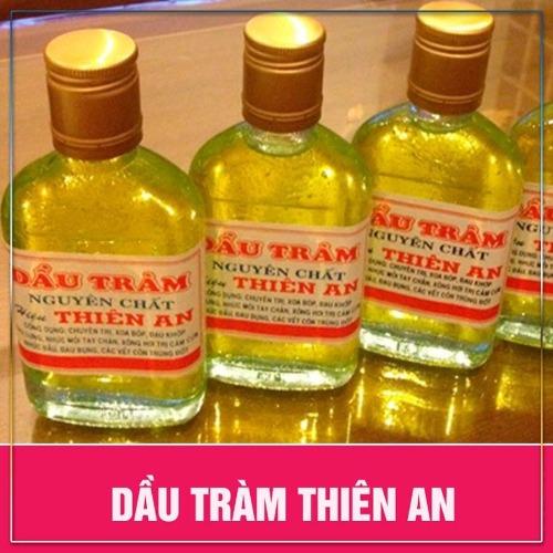 Tinh dầu tràm Thiên an nguyên chất- phòng, trị bệnh vặt ở trẻ sơ sinh, trẻ nhỏ