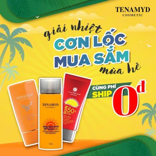 Tenamyd - giải pháp bảo vệ da toàn diện trong những ngày hè