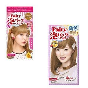 Thuốc nhuộm màu tóc Palty Foam Pack