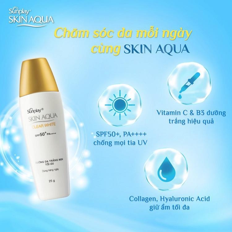 Chăm sóc làn da mỗi ngày cùng Skin Aqua