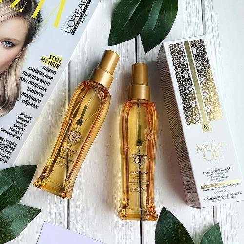 Dầu dưỡng L'oreal Mythic Oil Nourishing - chống rối giúp tóc bóng mượt, chắc khoẻ