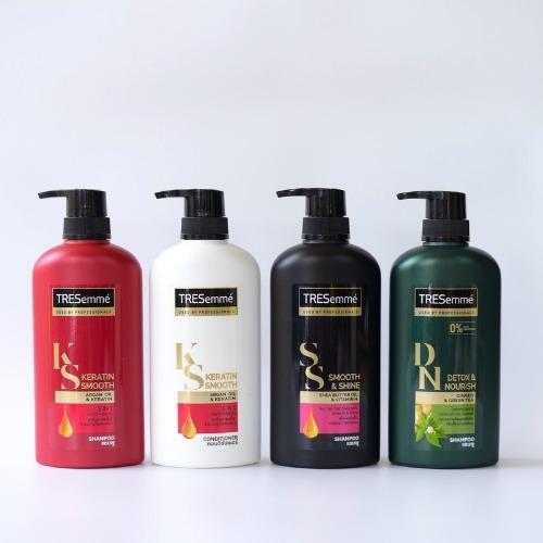 Bộ sản phẩm Tresemme - phù hợp với từng loại tóc