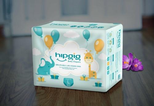 Hipgig là thương hiệu bỉm nội địa số 1 Việt Nam