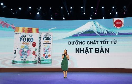 Yoko gold chứa dưỡng chất nhập khẩu từ Nhật