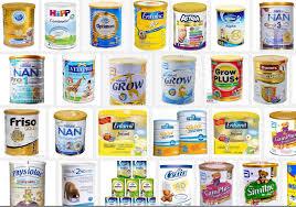 Có khá nhiều loại sữa tăng cân cho bé 0 - 6 tháng