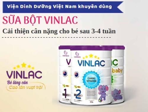 Sữa công thức Vinlac