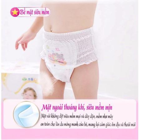 Hipgig thoát khí tốt giúp chống ẩm cho da của bé