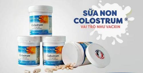 Sữa non Fenioux Colostrum Pháp tốt cho mọi đối tượng sử dụng