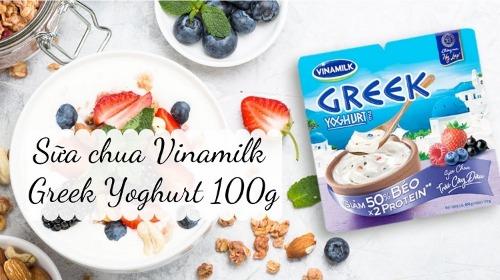Sữa chua Hy Lạp hỗ trợ giảm cân hiệu quả
