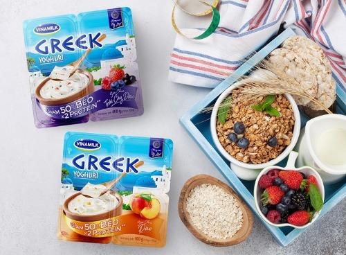 Sữa chua Hy Lạp có protein cao gấp đôi so với sữa chua thông thường