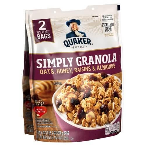Yến mạch giảm cân ăn liền Granola